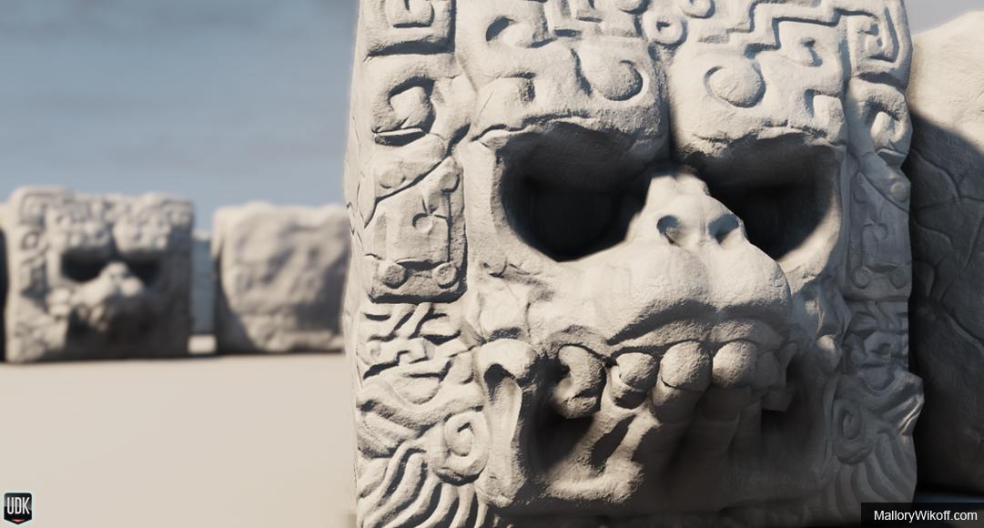 Mayan Death God Prop -...