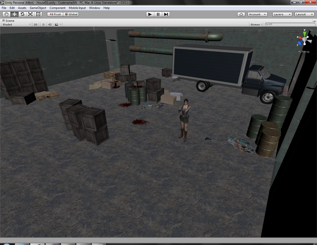 Progress - Inventory & alpha Animations news - Code Name: AN - Indie DB