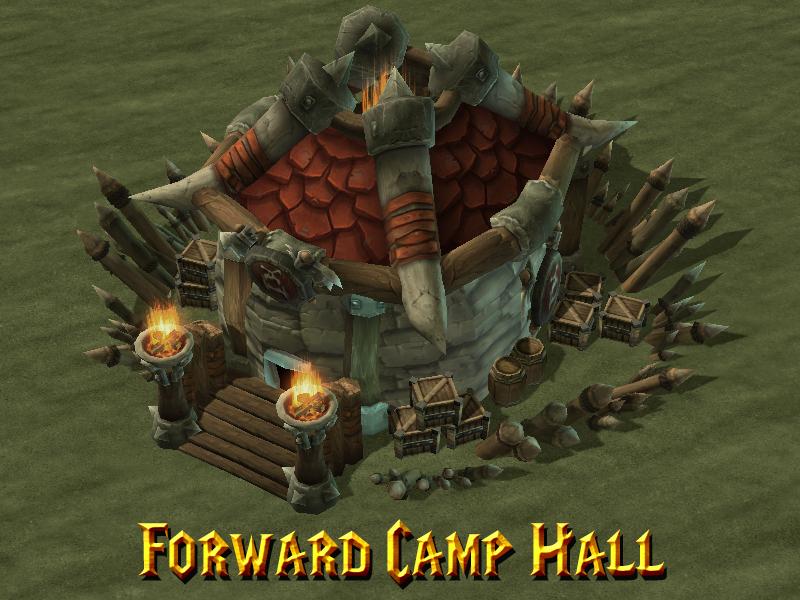 Warsong Forward Camp Hall