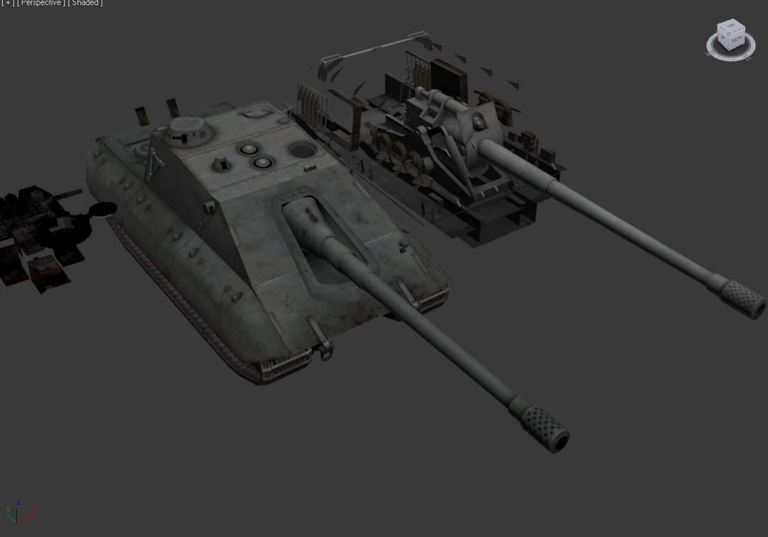 Jagdpanzer E-100 Krokodil - WIP image - JoshZemlinsky - Mod DB