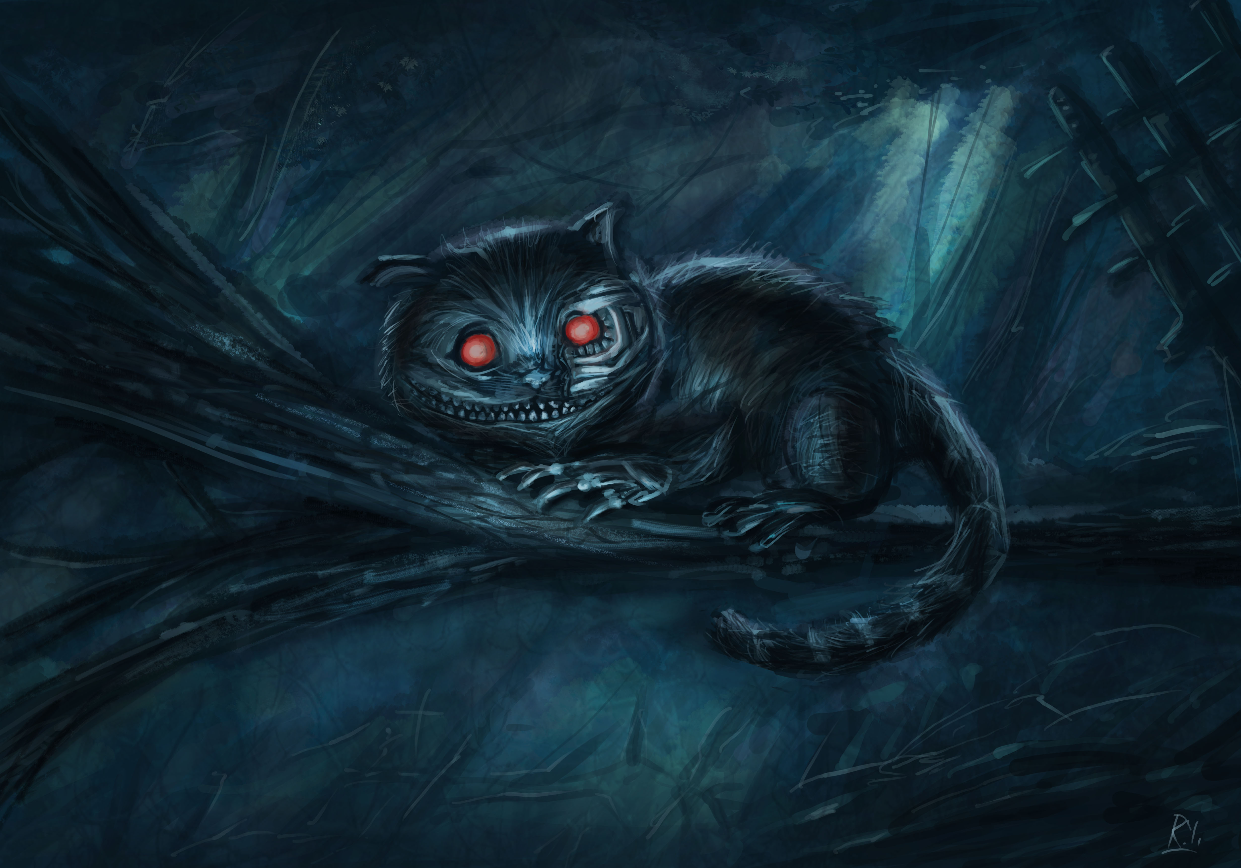 Картинки чеширскими кошками