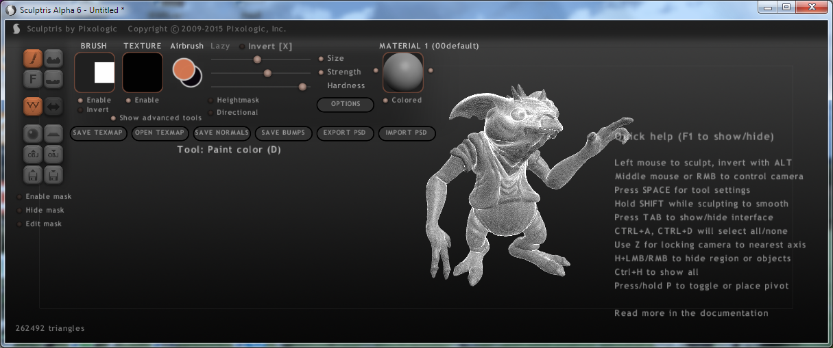 10 1 01 Sculptris Main
