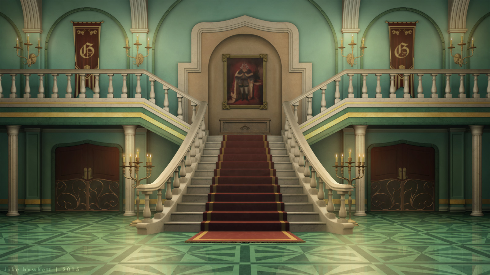 Grand Hall Image Jigsawpieces Mod Db