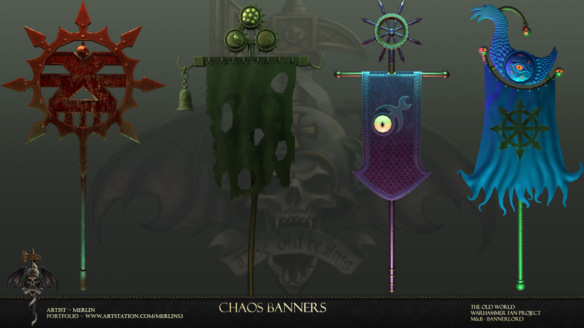 Chaos banners