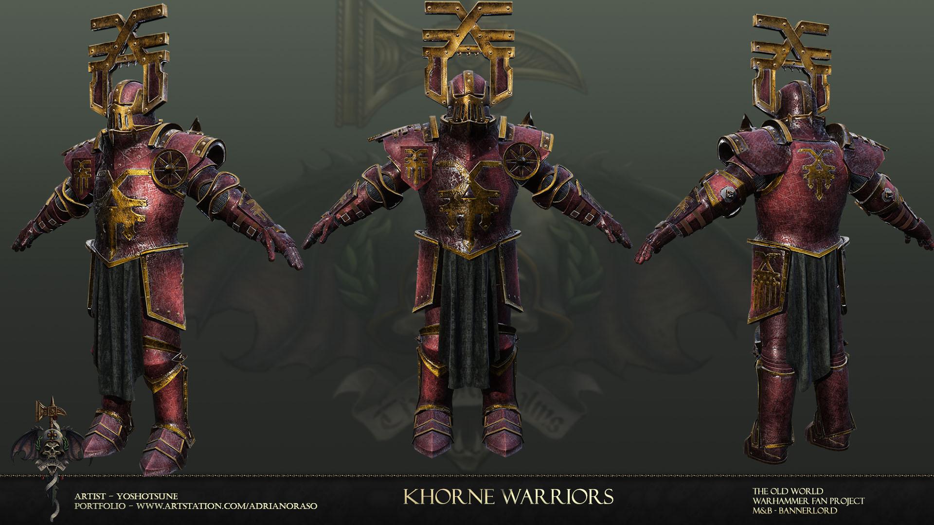 Khorne warrior 1