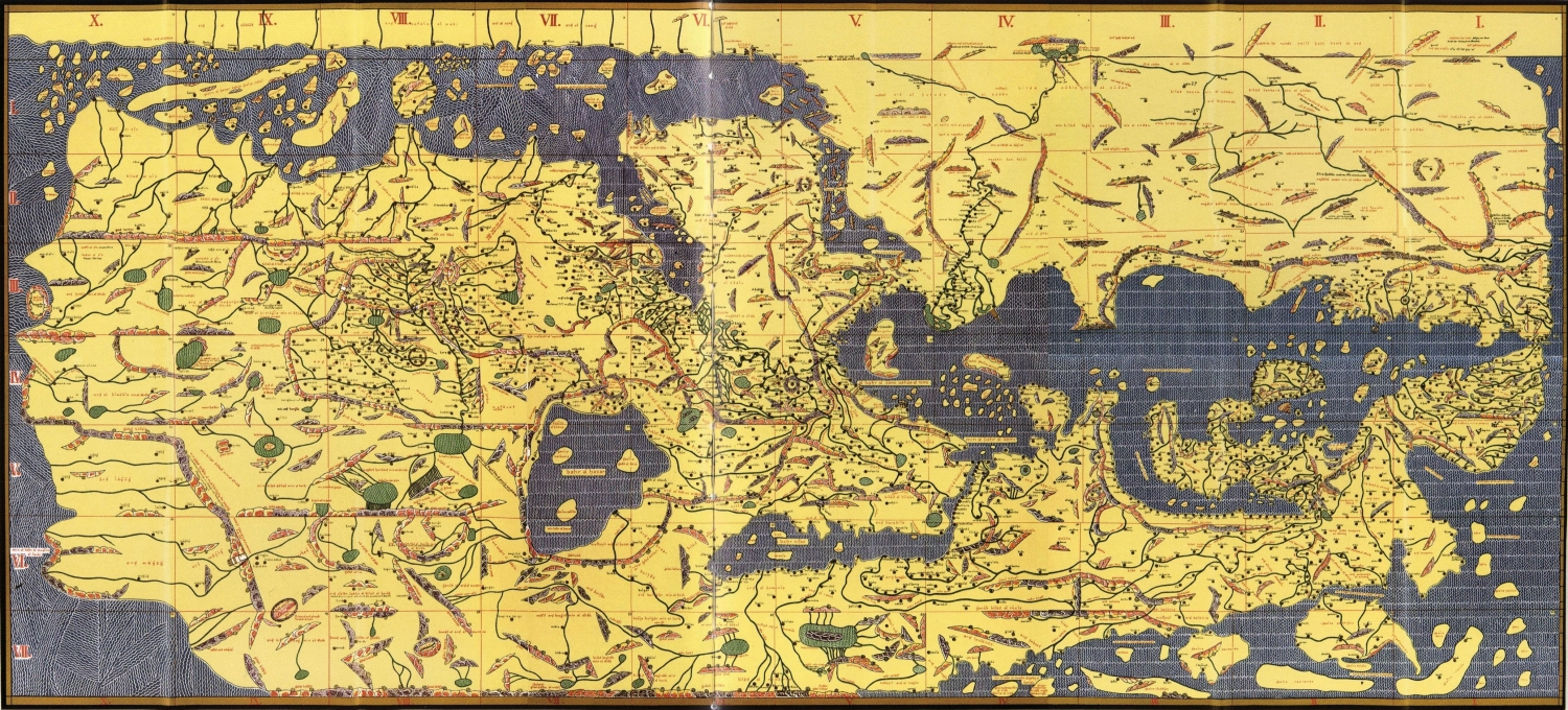 Map Of Al Idrisi First World Map In History Image