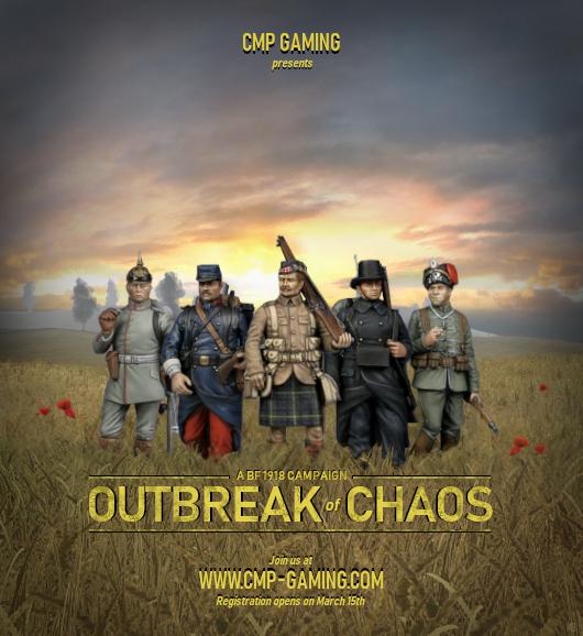 Battlefield 1918 outbreak of cha