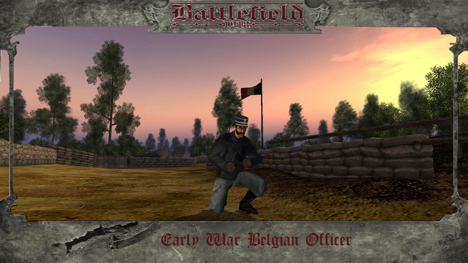Early War Belgium Officer
