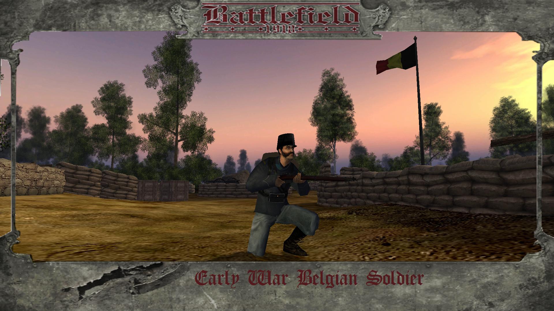Early War Belgium Soldier