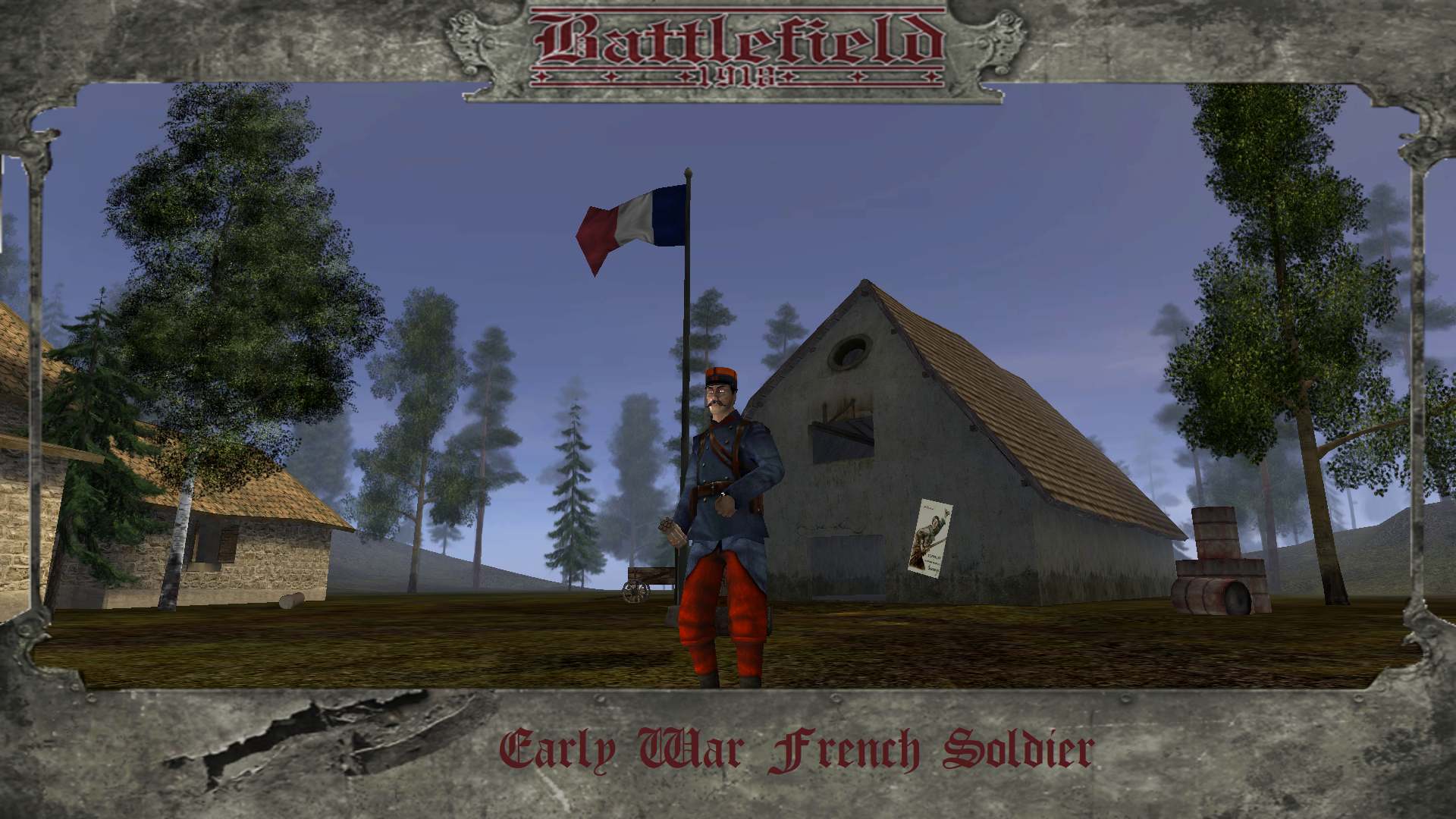 Early War French Soldier