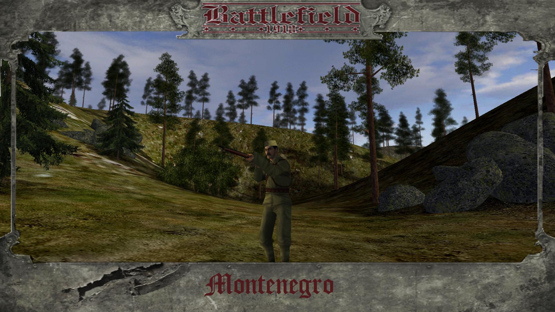 Montenegro Soldier