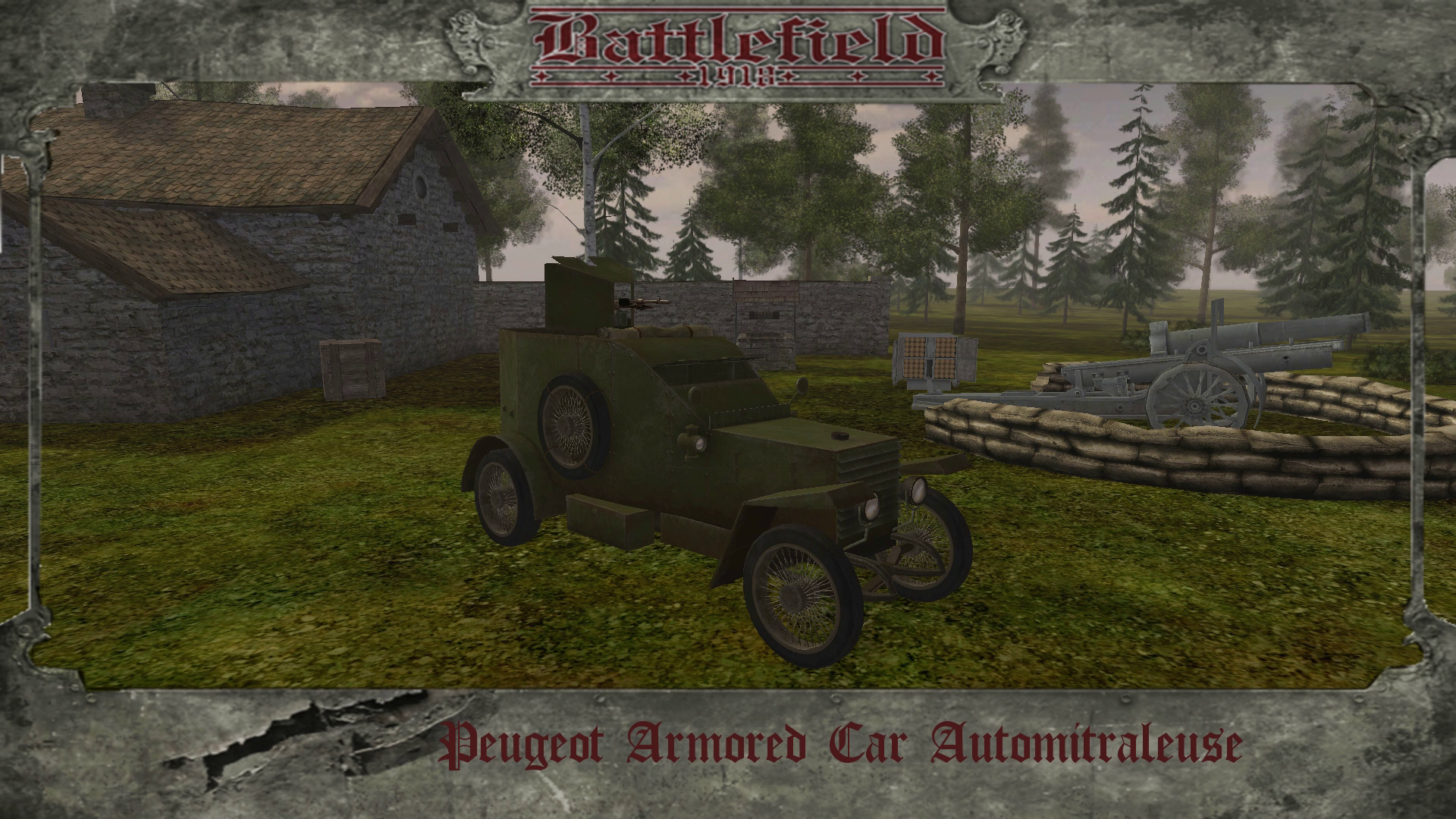 Peugeot Armored Car MG
