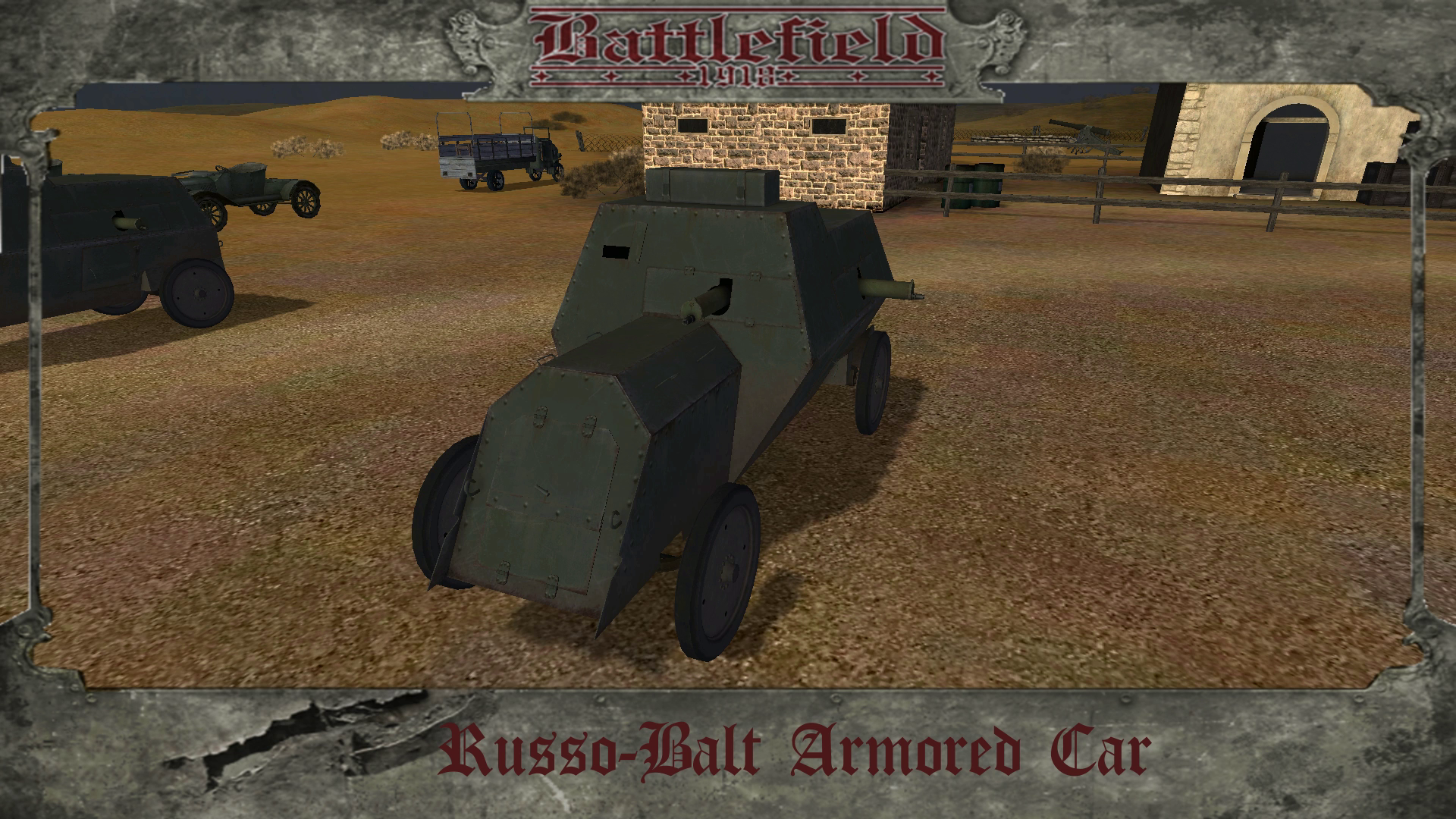 Russo Balt Armored Car