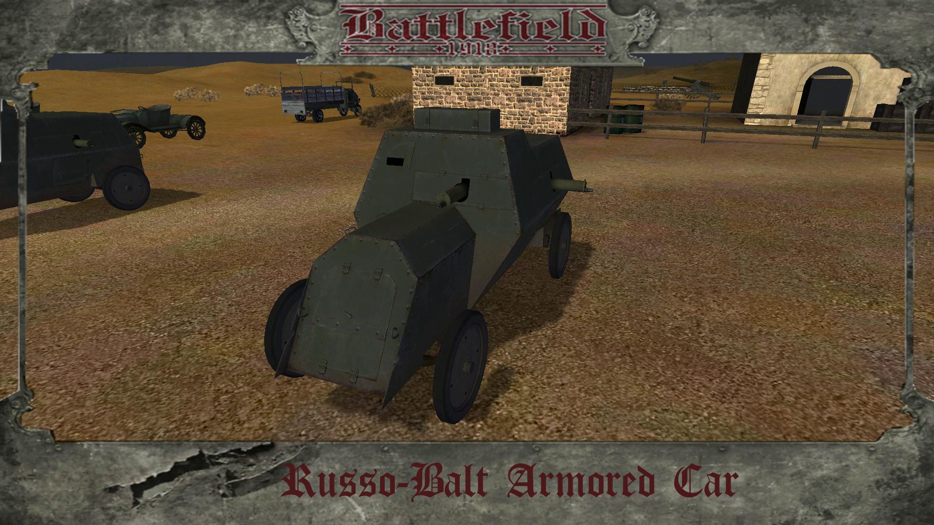 Russo Balt Armored Car