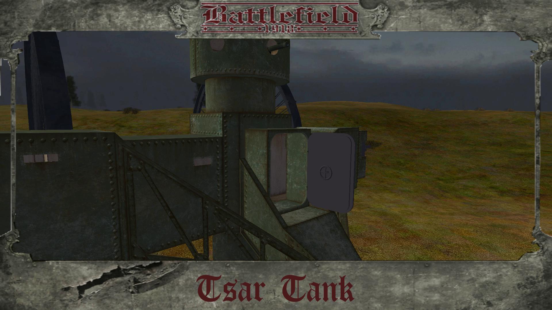 Tsar Tank Rear