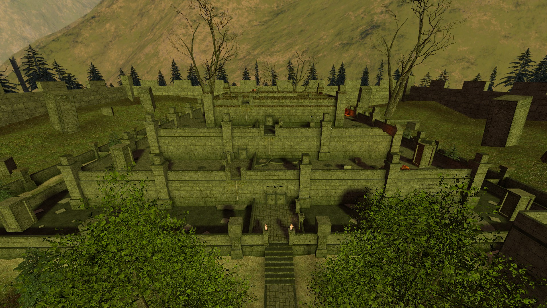 Bhop Map kz_bhop_lost_temple