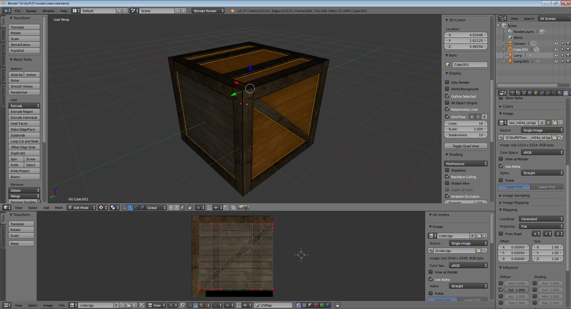 crate base