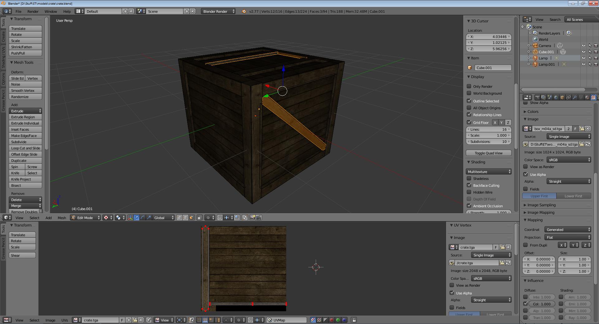 crate beam