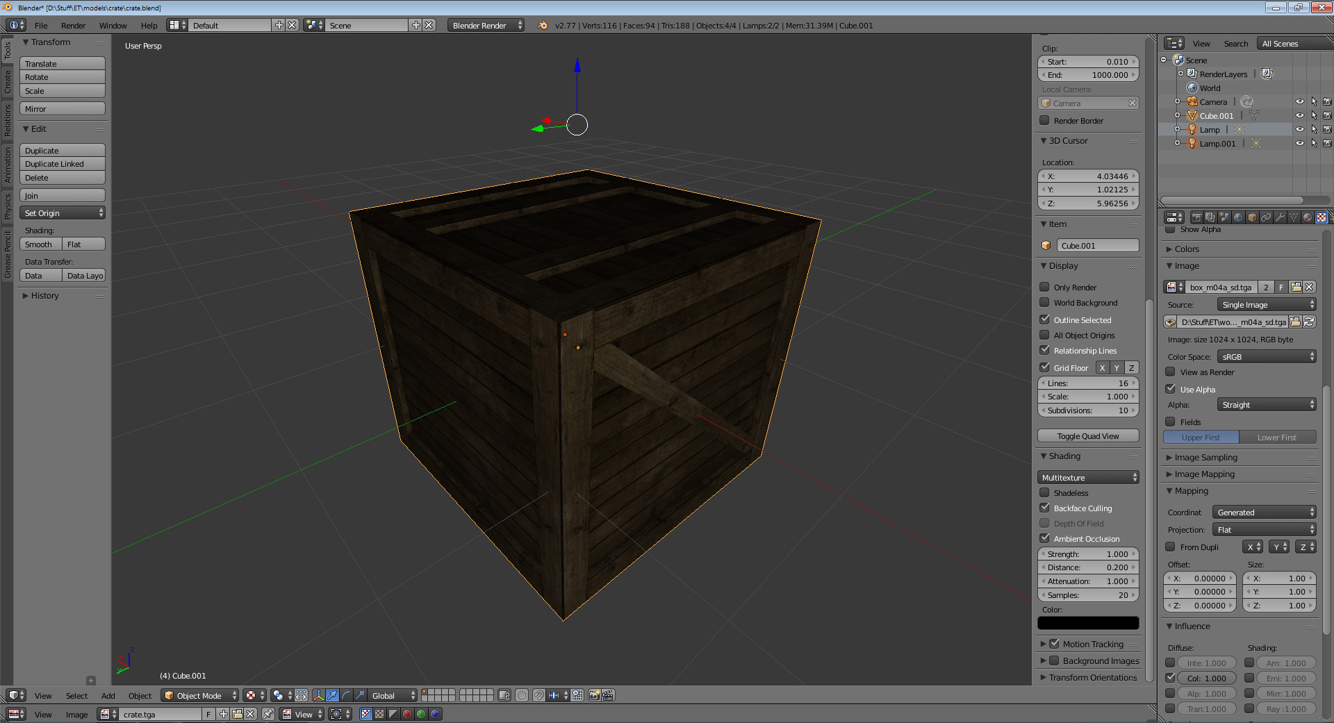 crate solid