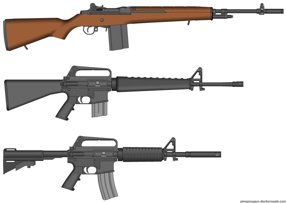 M14, M16 and CAR-15...For short: Vietnam! image - RSRobert ...