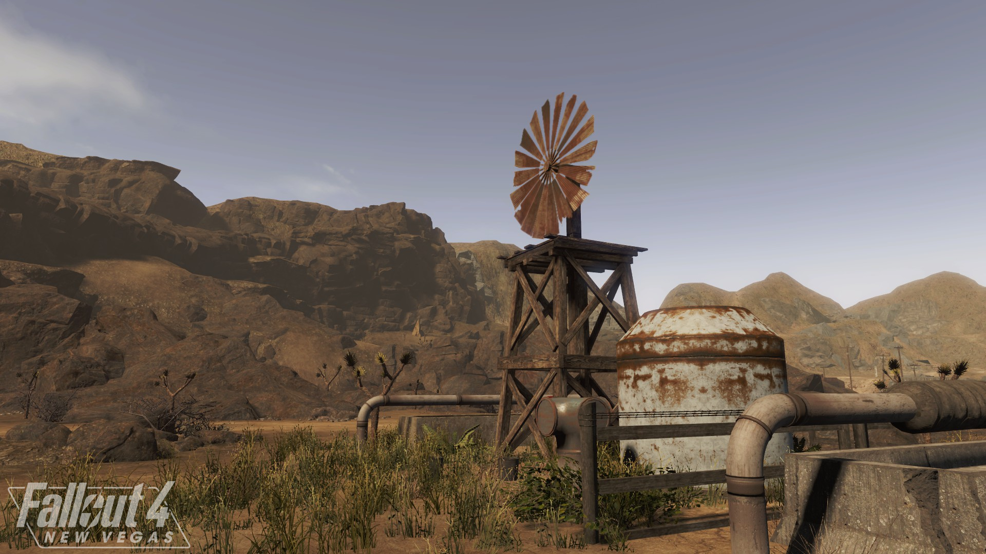 A quick shot taken around the Goodsprings Source.