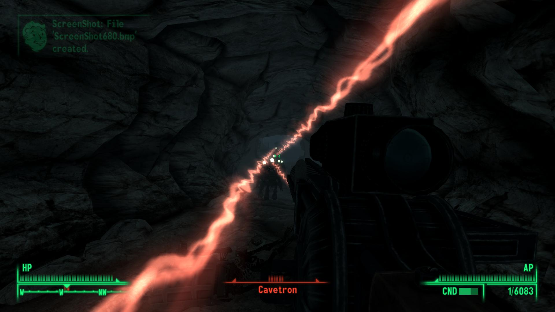 Cave on the Demo of DLC Nightmare Falls - Fallout 3