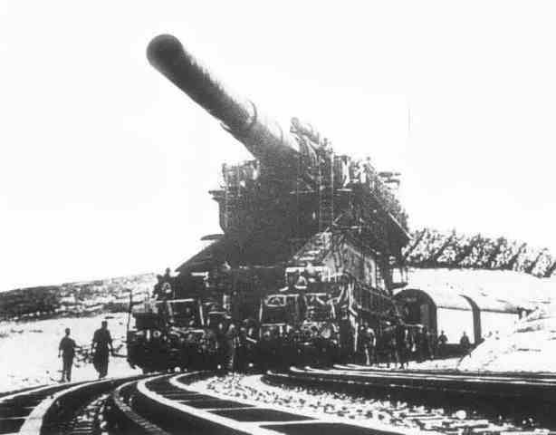 El cañón Nazi más grande de la historia (800mm)