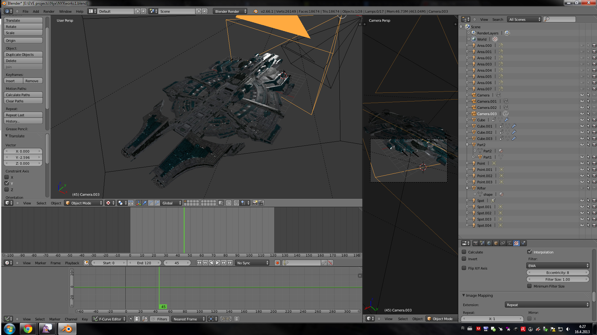 experiments with eve online models image uni mod db
