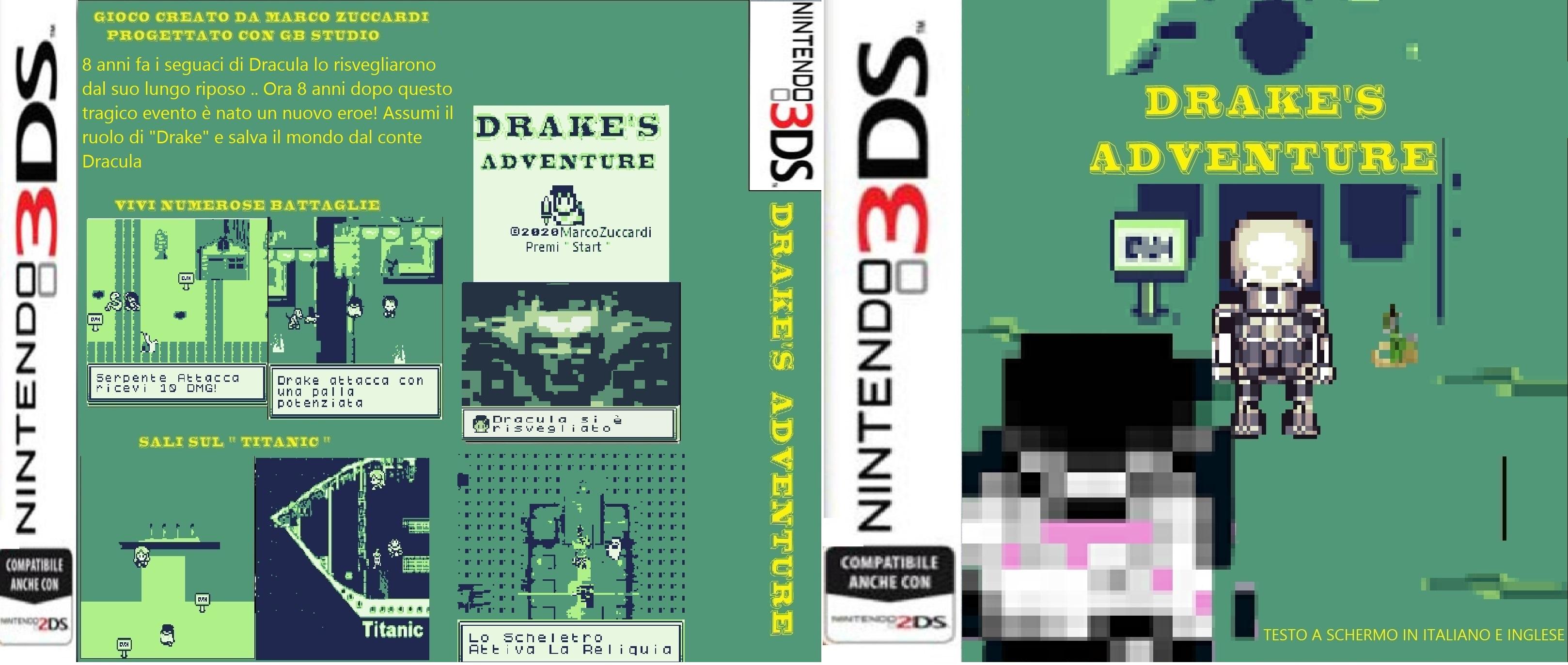 Nintendo 3ds Drakes Adventure