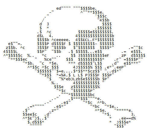 Pirate Asciii