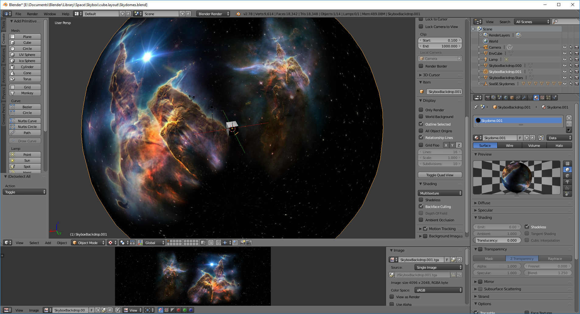 Tutorial] Skybox - Environment Cube » Forum Post by myfist0