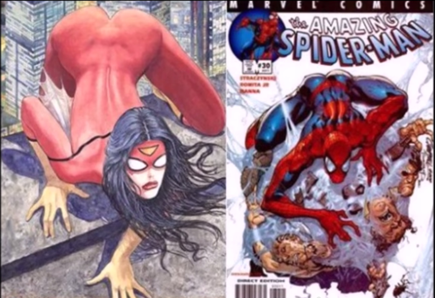 Marvel spider woman cover
