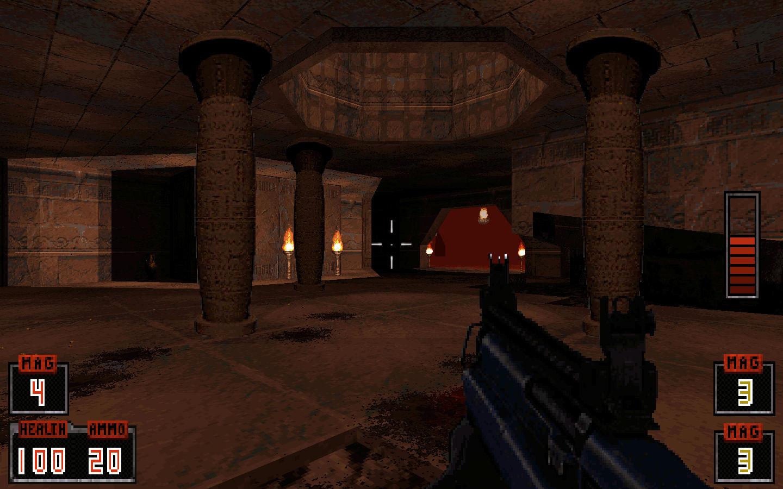 Screenshot of the Egypt Catacombs