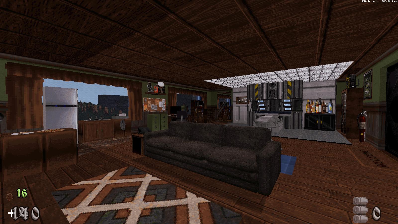 AMC Rusty's room, by Alicatgamer