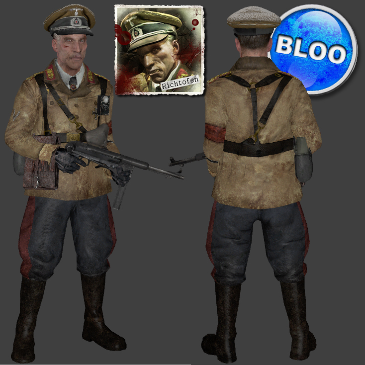 Call Of Duty Zombies Richtofen Costume