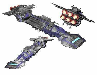 Corellian Destroyer MKII