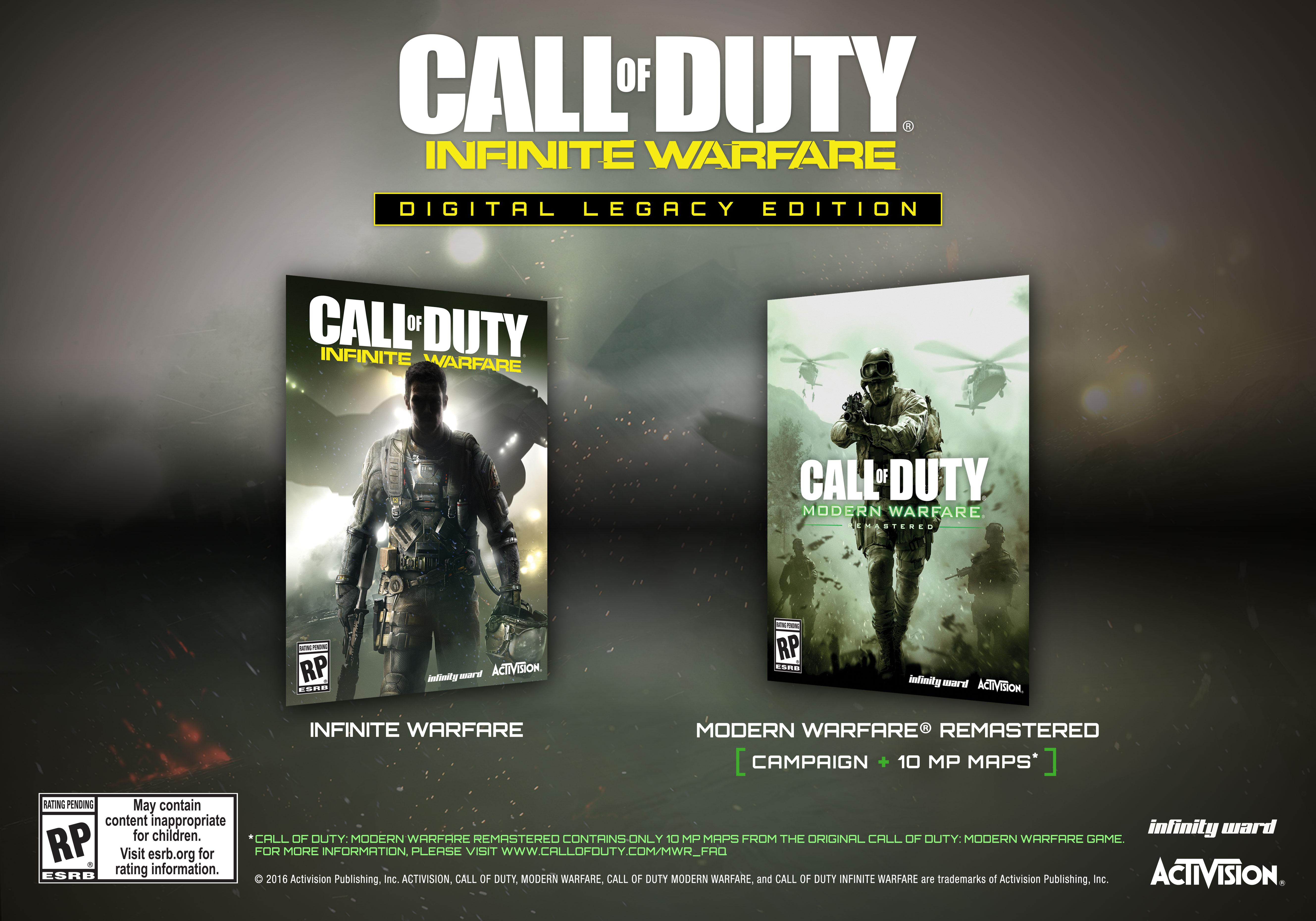COD Infinite Warfare Digital Leg