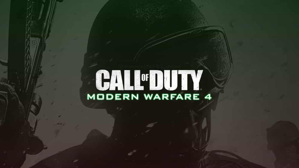 Call of Duty Modern Warfare 4 MW