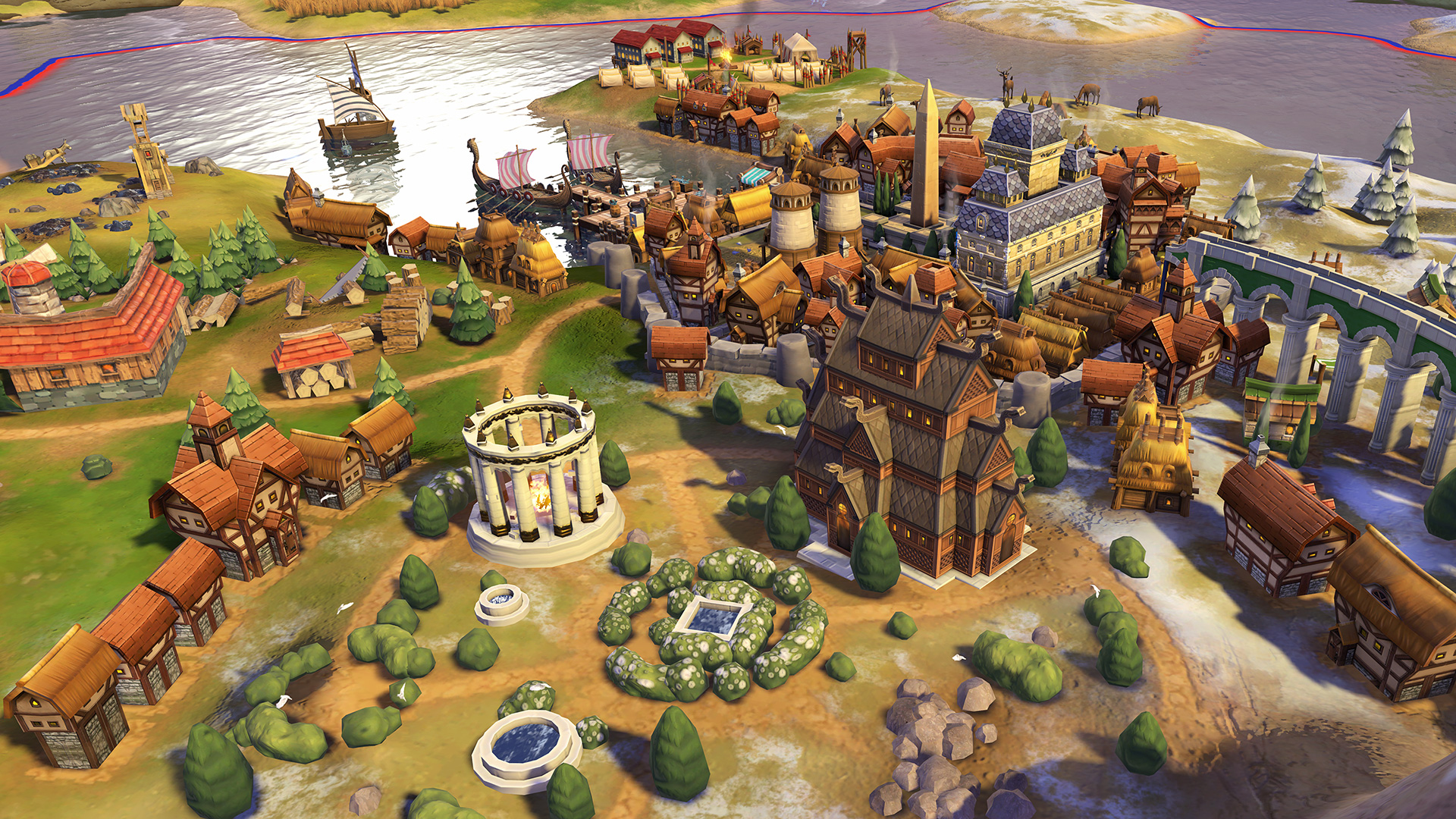 CivilizationVI Norway Stave Chur