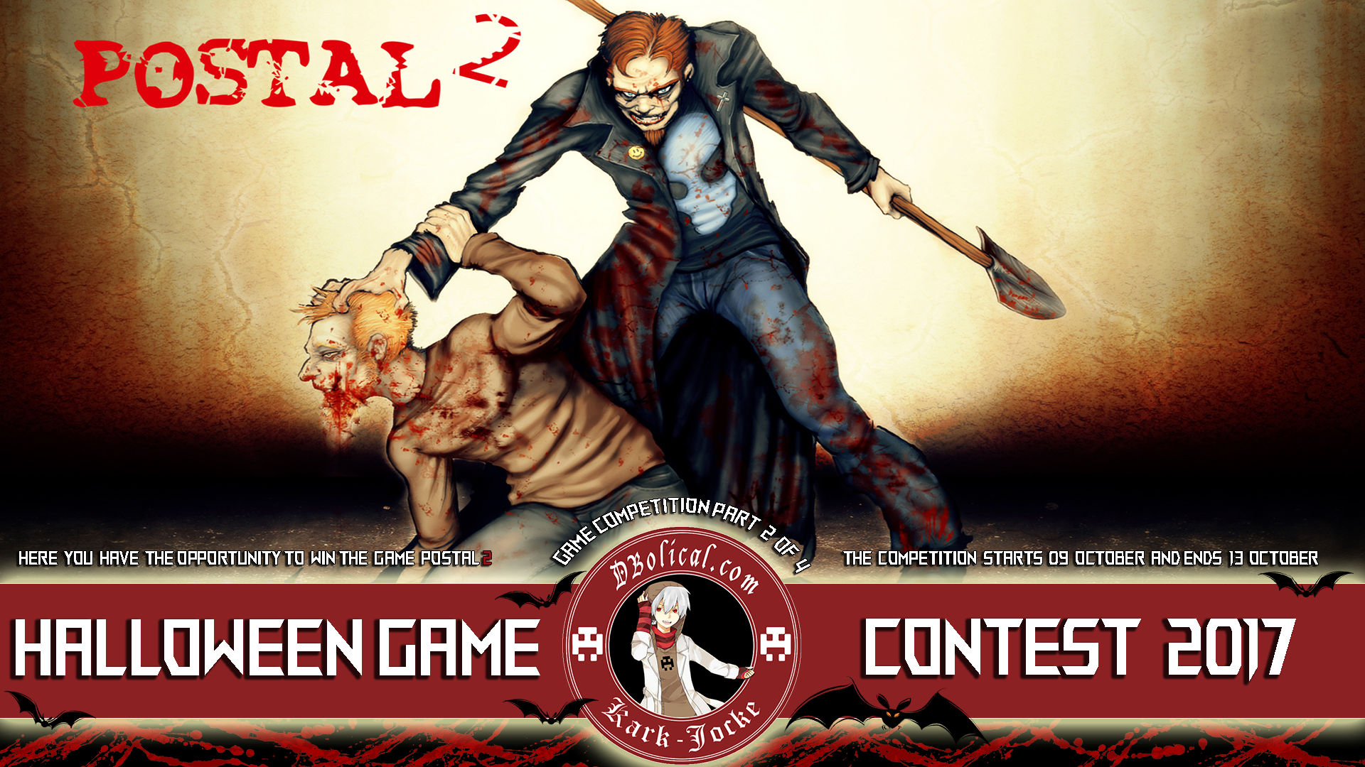 K J Halloween Game Competition Part 2 Of 4 News   POSTAL 2 ...