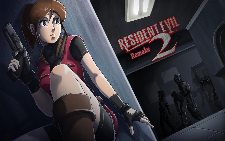 Resident Evil 2 logo CB K J