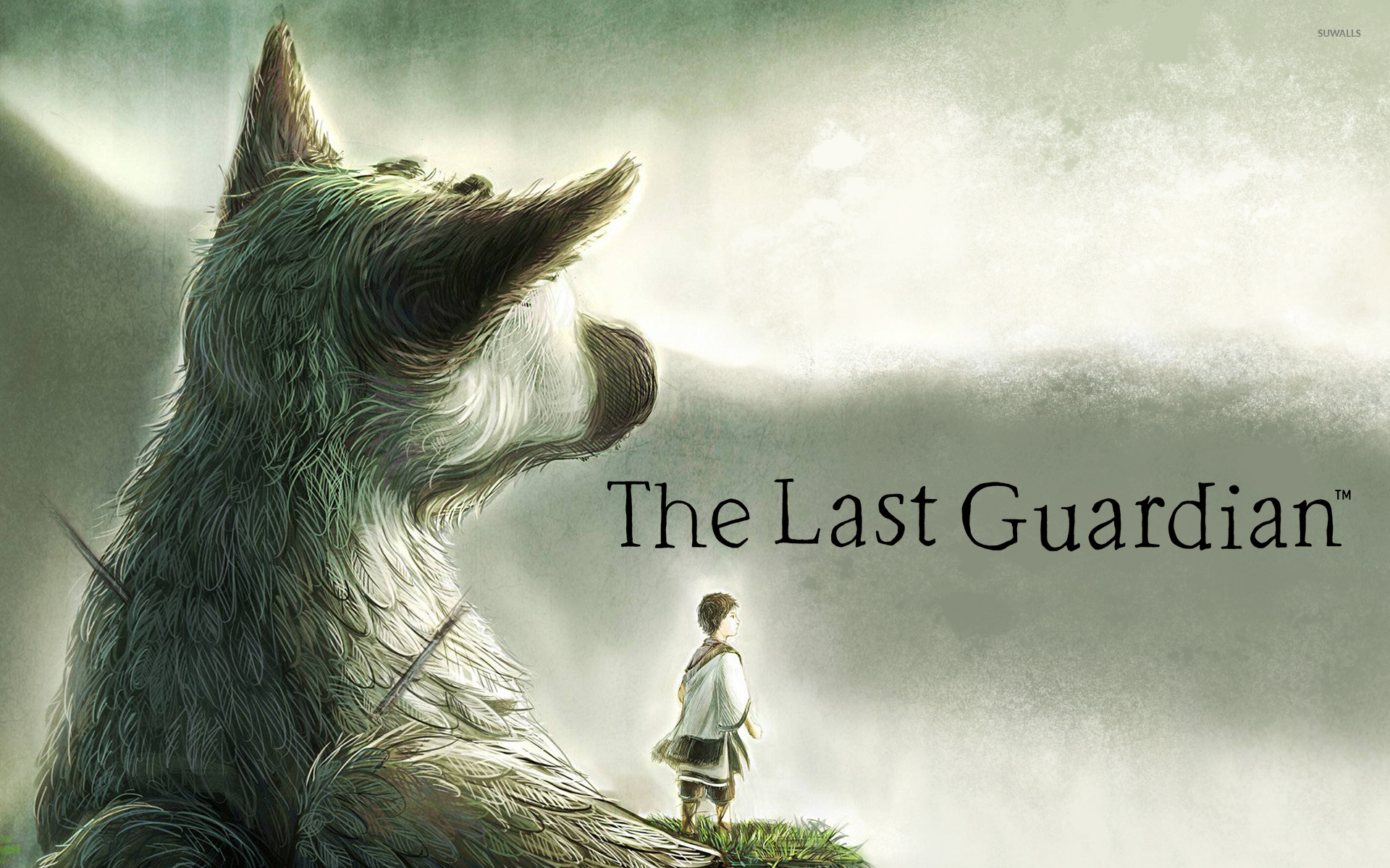 trico and the boy in the last gu