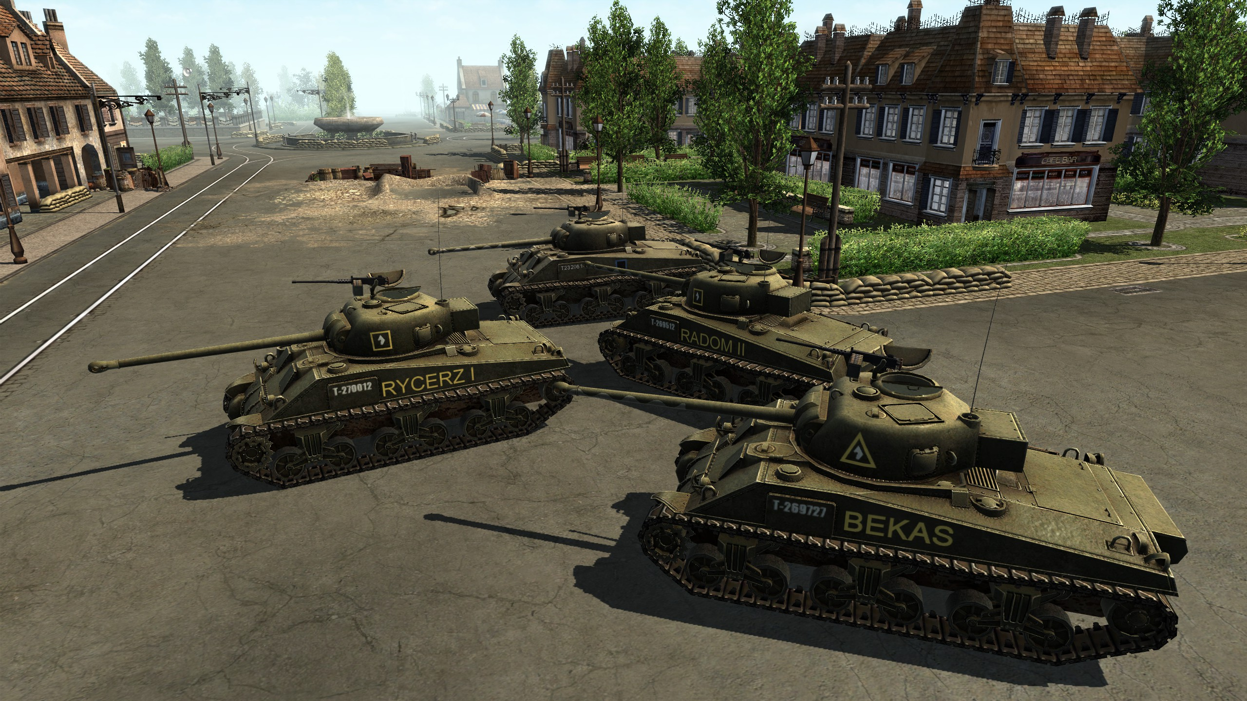 polish army textures for sherman firefly tanks image