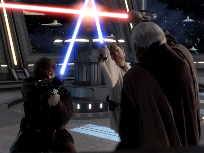 Image result for anakin obiwan vs dooku ep3
