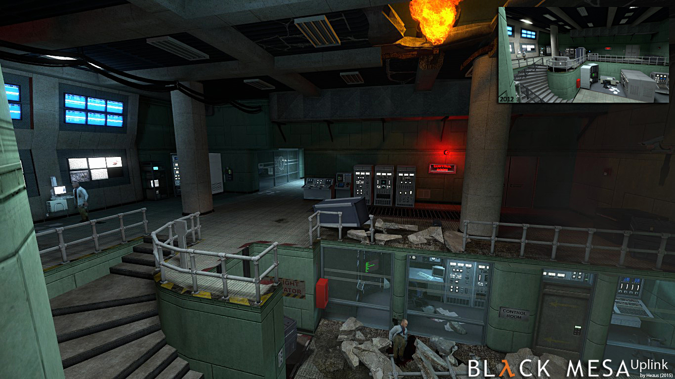 Black Mesa: Uplink Redux screenshot
