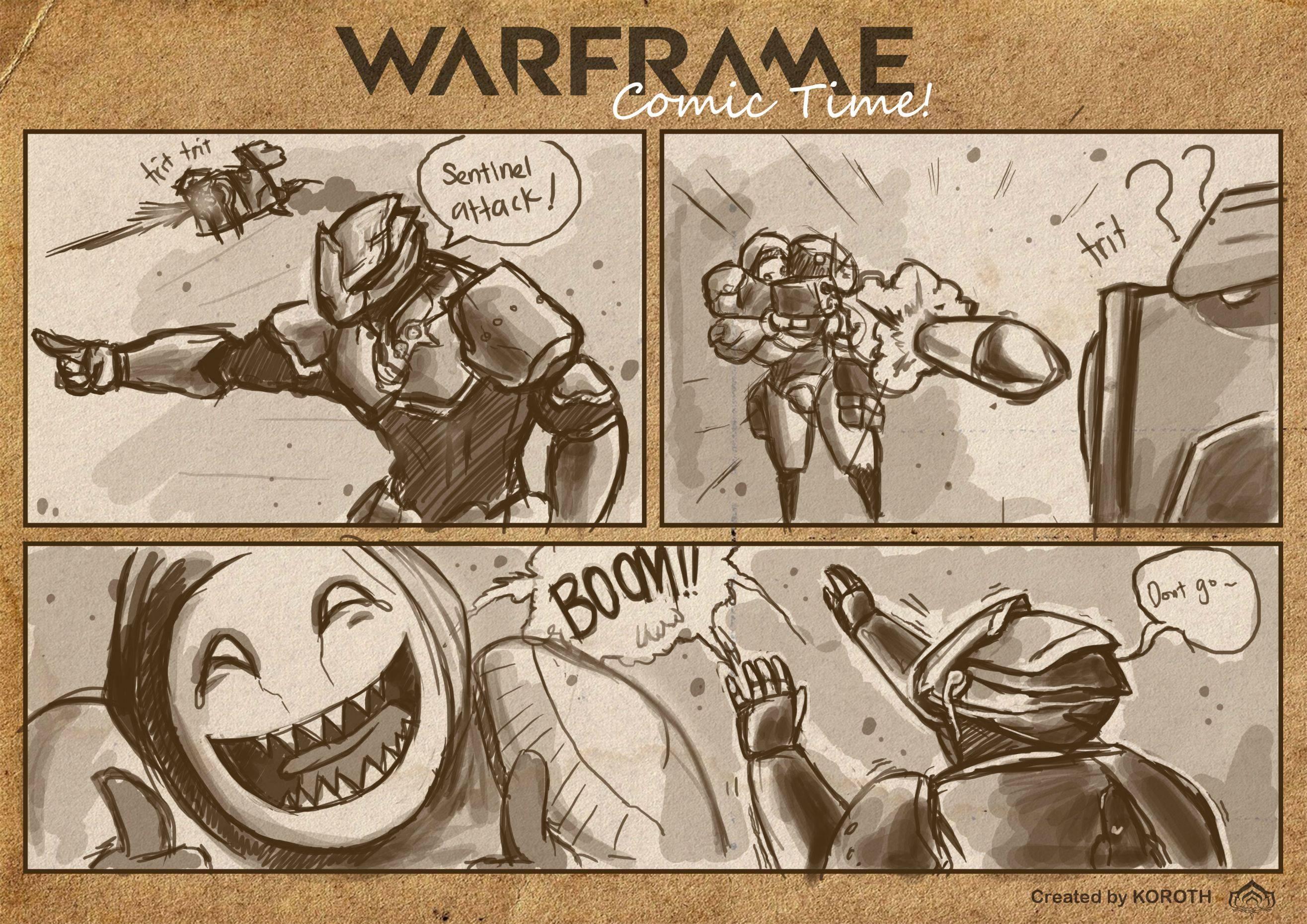 Варфрейм смешные картинки
