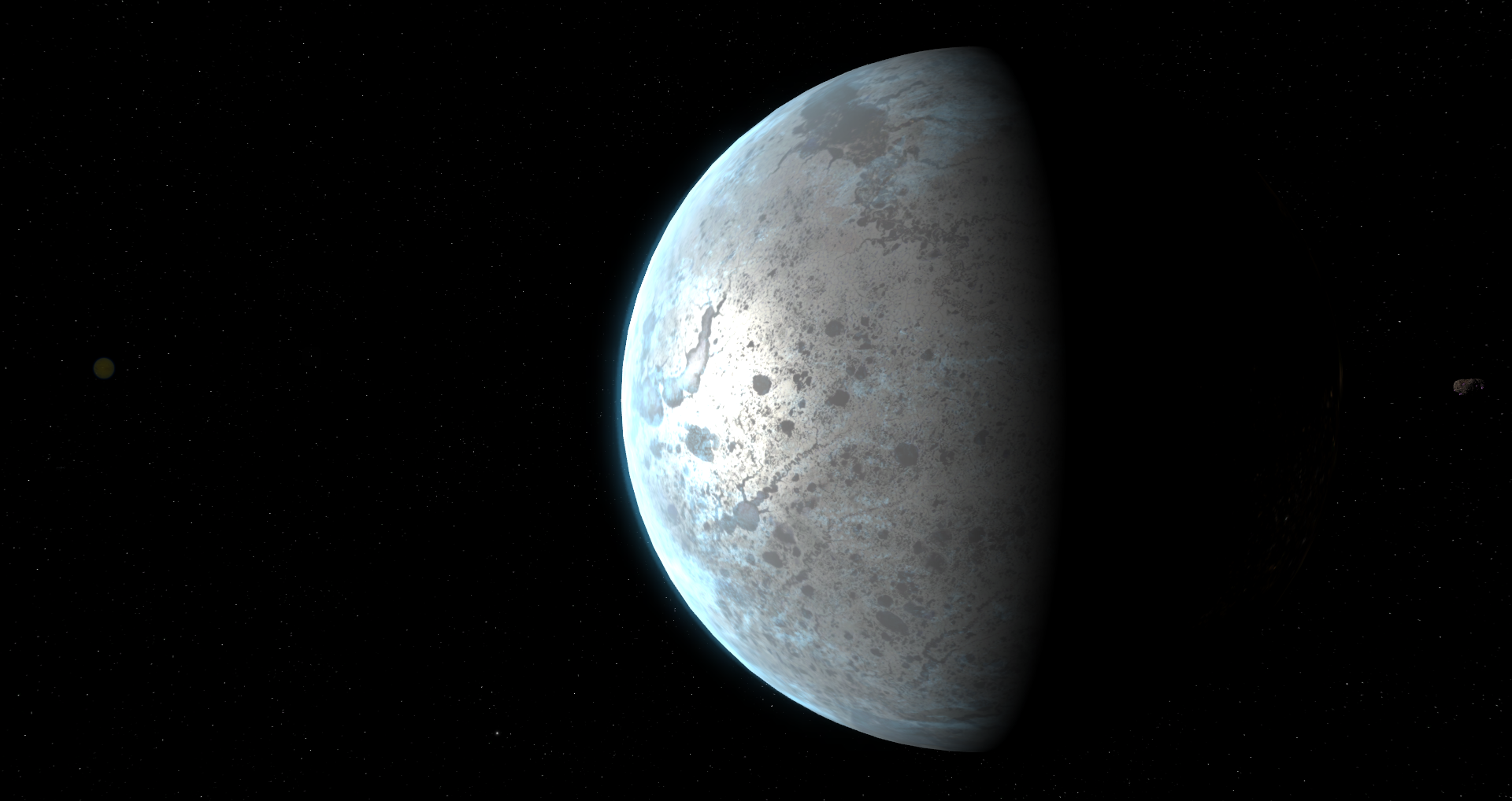 Updated specular mapping for the iced worlds