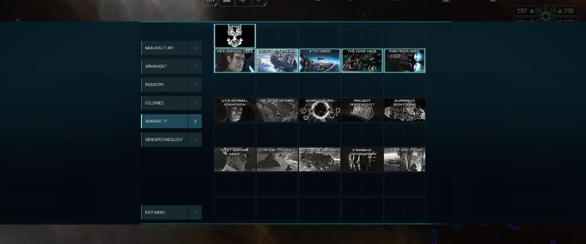 UNSC Leader Research