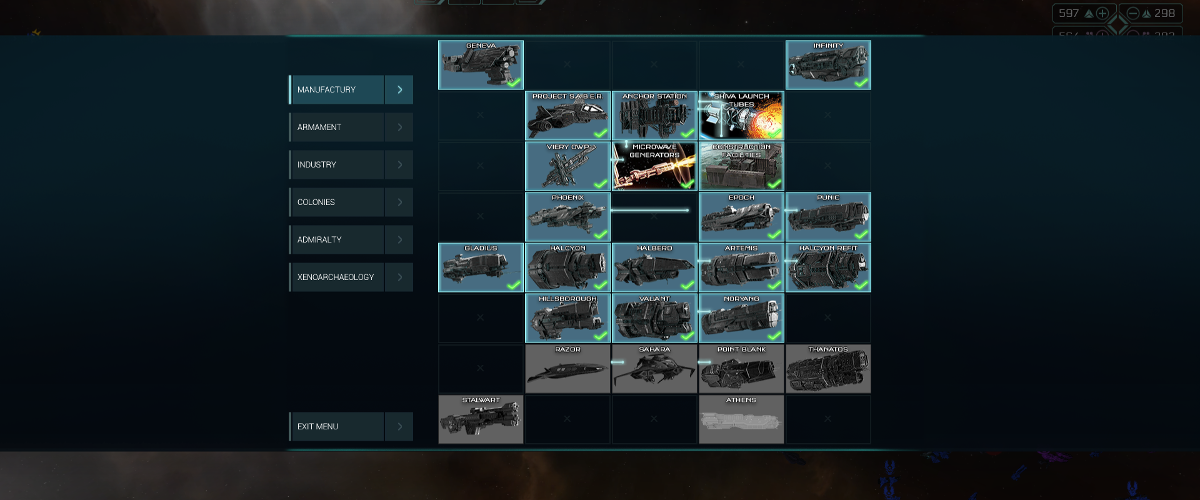 UNSC Ship Research