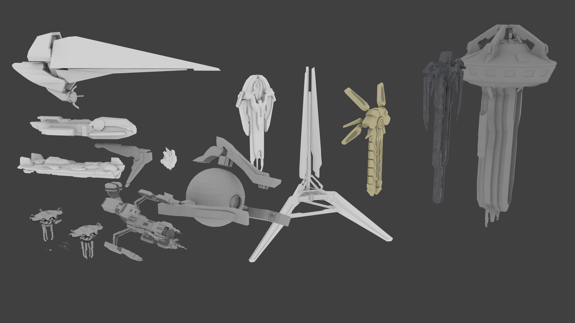 Sookendestroy has been exploring Forerunner sentinel and ship design.